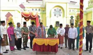 Pemkab Siak Terima CSR Dari Bank Riau Kepri