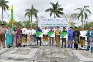 BRK Cabang Siak Raih Penghargaan Perusahaan Peduli Sektor Pendidikan dan Agama