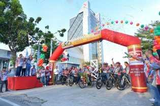 Fun Bike 2018 Bank Riau Kepri Dilepas Oleh Ketua Komisi C DPRD Riau