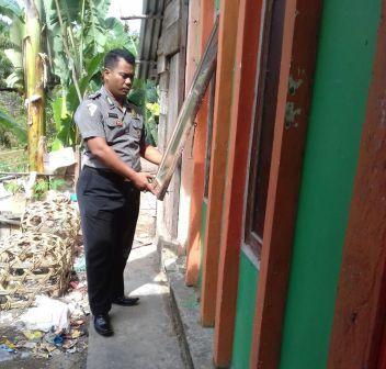 Ditinggal Shalat Idul Adha, Seorang Pemuda di Rohul Bobol Rumah Warga