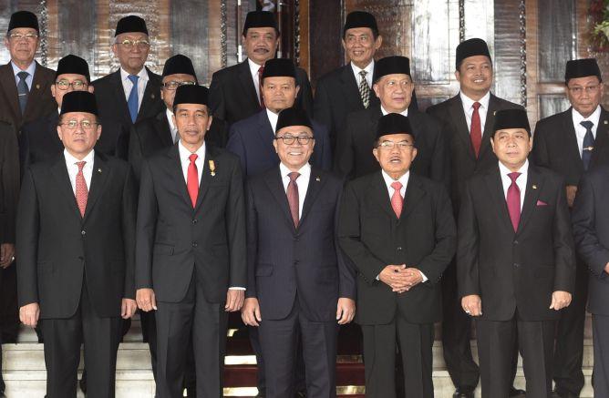 Presiden Kaji Ulang Tujuh Megaproyek DPR