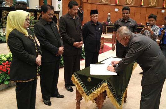 APBD Riau 2017 Sebesar Rp 10,4 Triliun