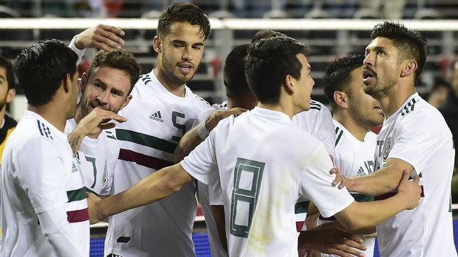 Meksiko Tak Ingin Sekadar Hadir di Piala Dunia 2018