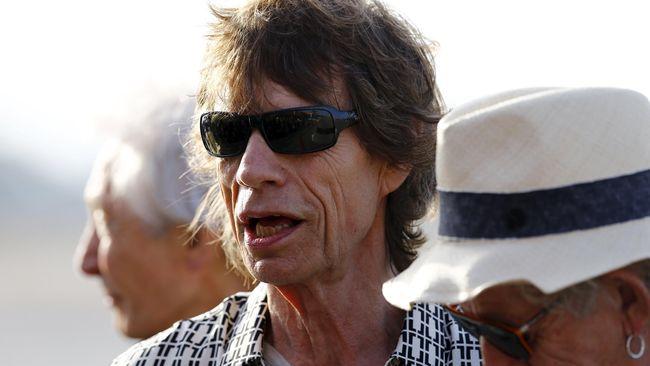 Mick Jagger Siap Menimang Anak di Usia 72 Tahun