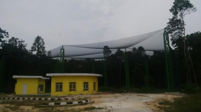 Tiga Proyek Besar Mangkrak di Kabupaten Siak