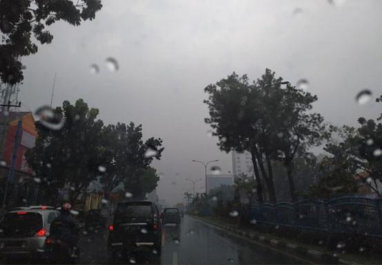 Tidak Merata, Hari Ini Ada Potensi Hujan di Riau