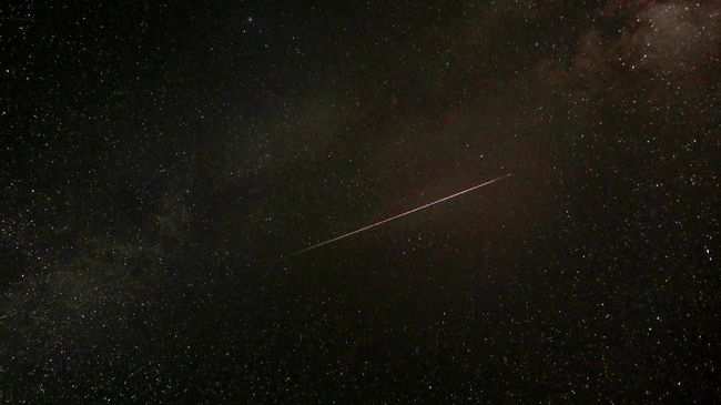 Malam Ini Langit akan Dihiasi Hujan Meteor Perseid