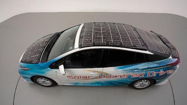 Toyota Tes Prius yang Sanggup 'Sedot' Energi Matahari