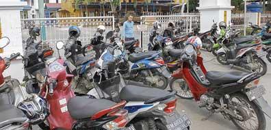 Kantor Walikota Jadi Tempat Parkir