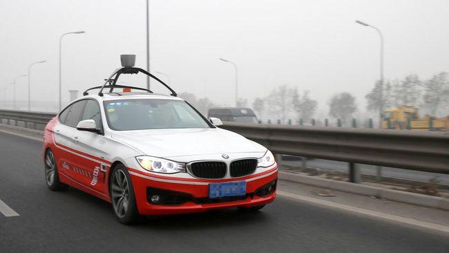 'Google dari China' Jajal Mobil Otonom di Jalanan Amerika