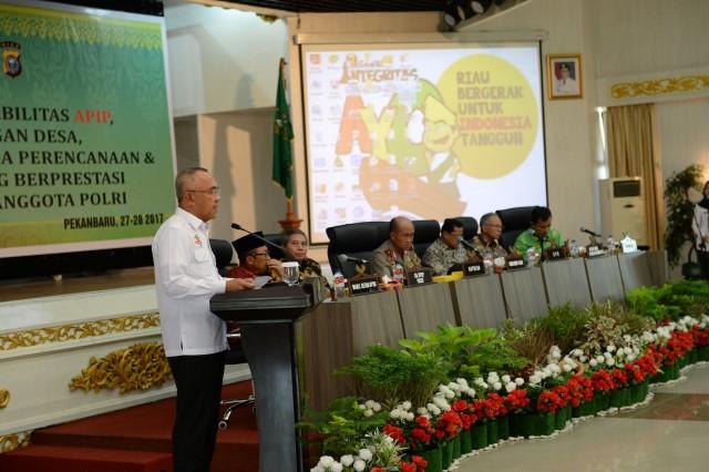 Korupsi adalah masalah besar bagi semua Negara termasuk Indonesia, Riau Khususnya