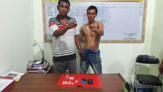 Miliki Sabu, Dua Warga Medan Ditangkap di Inhu