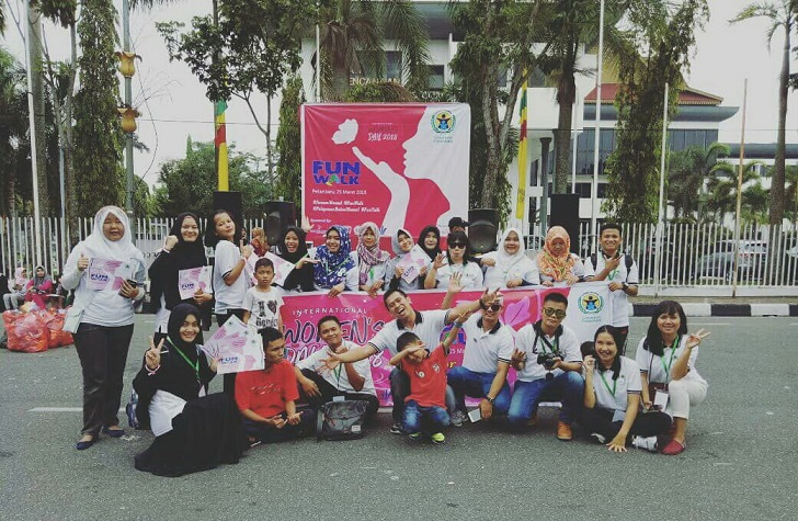Fun Walk, International Women's Day 2018