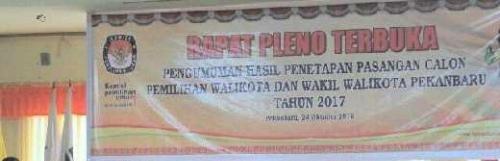 Pasbalon Dastryani-Said Usman Tidak Lolos, Empat Pasangan Siap Bersaing di Pilwako Pekanbaru