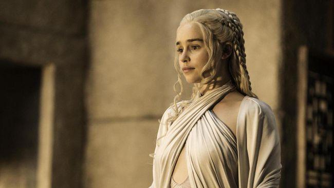 Emilia Clarke Tak Mau Bergabung Lagi dengan 'Game of Thrones'