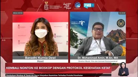 Ini Langkah Kemenparekraf Dorong Peningkatan Sektor Perfilman di Indonesia