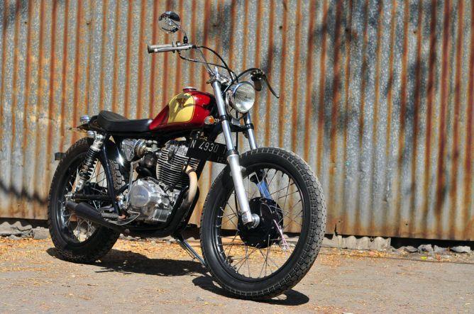 Honda CB125 1975, Calon Arsitek Punya Selera