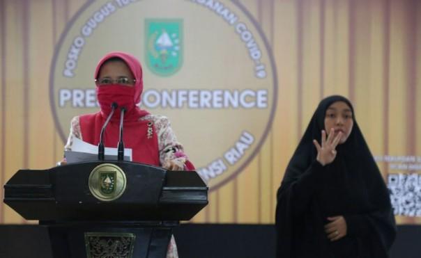 Hari Ini Ada 10 Pasien Sembuh Covid-19 di Riau