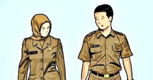 2 ASN Suami Istri Ditangkap Polisi