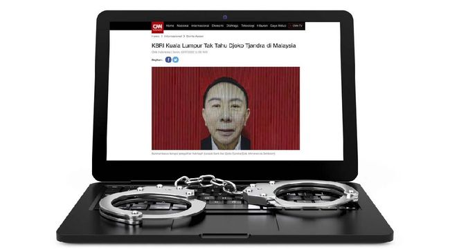 Perintah Keras Jokowi di Balik Penangkapan Djoko Tjandra