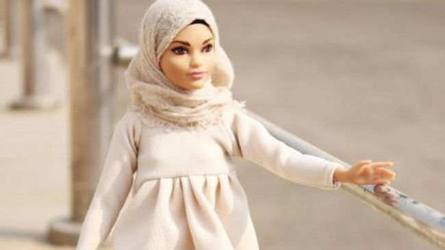 Boneka Barbie Berhijab Curi Perhatian di Media Sosial