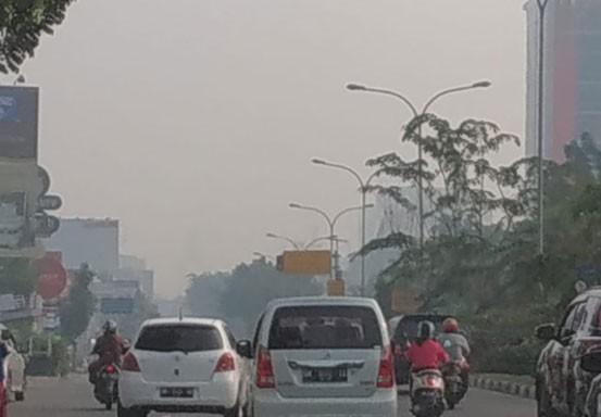 Titik Api di Riau Melonjak, Pekanbaru Mulai Berasap