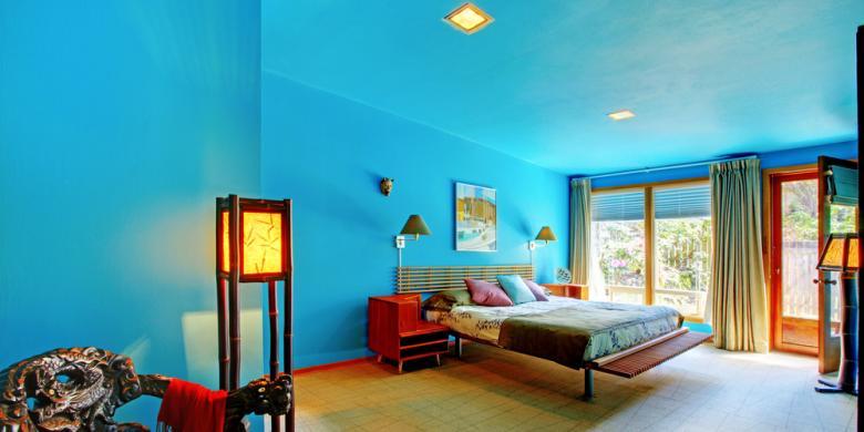 Survei Membuktikan, Warna Kamar Pengaruhi Kualitas Tidur