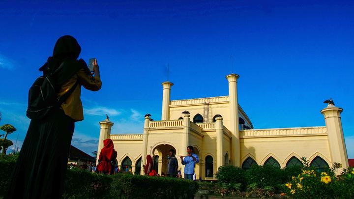 Wow, Istana Siak dikunjungi 25 ribu lebih wisatawan saat libur Lebaran