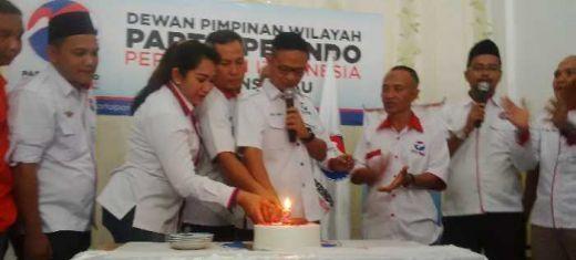 Dari Upacara Hingga Masuk Pesantren, DPW Partai Perindo Riau Sambut Ulang Tahun ke-2