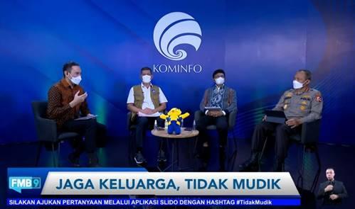 Kominfo Minta Masyarakat Pahami Dampak Mudik di Tengah Pandemi