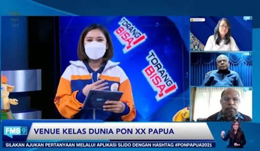 Kesiapan Venue Berkelas Dunia PON XX Papua Terus Digesa