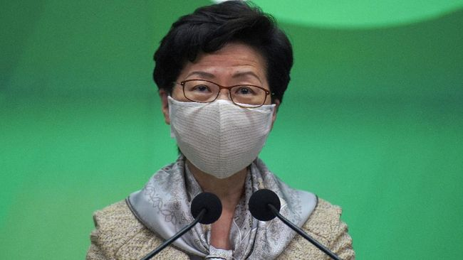 AS Jatuhkan Sanksi Pemimpin Hong Kong, China Sebut Biadab