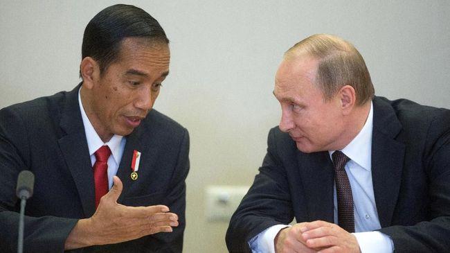 Tunda ke RI, Putin Undang Jokowi ke St. Petersburg Forum