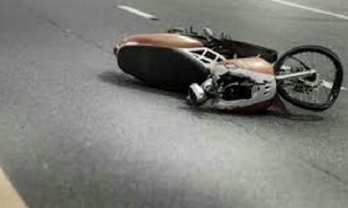 Dihantam Truk, Penumpang Sepeda Motor Tewas di Ruas Jalan Lintas Tengah Inhu