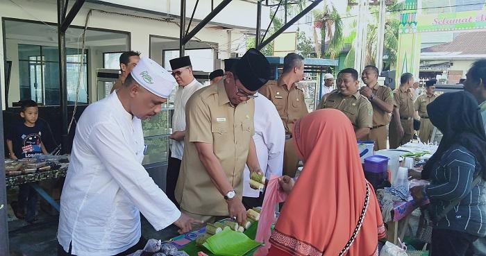 Disperindag Rohil Apresiasi Pedagang Bazar Ramadhan Meningkat