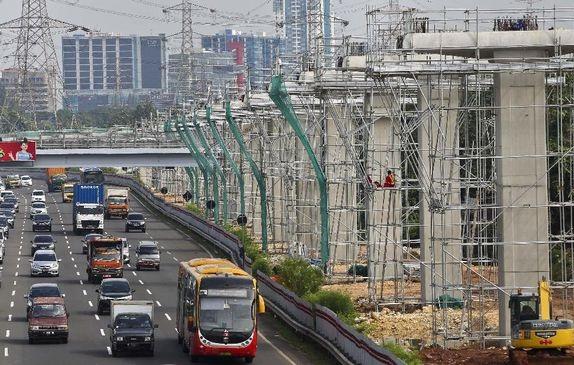 DPR Restui Suntikan Modal Proyek LRT Rp4 Triliun