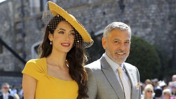 George Clooney dan Istri Sumbang Rp1,46 M untuk Lebanon