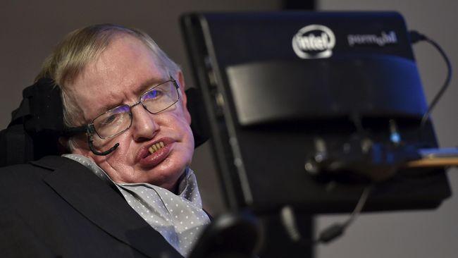 Hawking: 100 Tahun Lagi Bumi akan Kiamat
