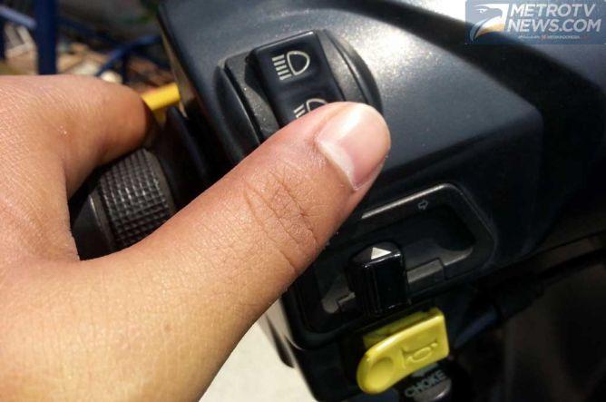 Switcher Lampu Motor Panas, Awas Bikin Meleleh Konektor