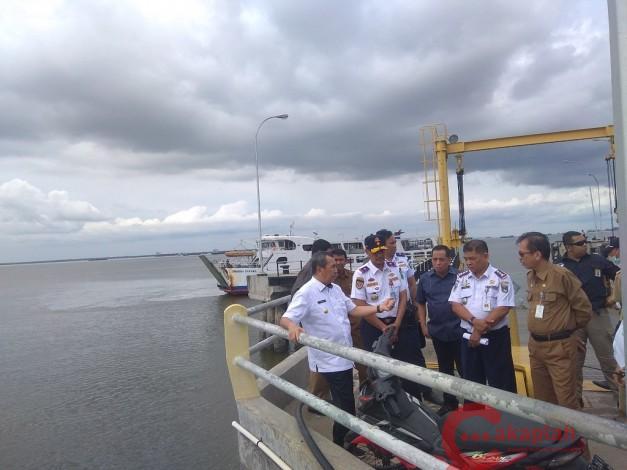 Pemprov Riau akan Bangun Sarana Pendukung di Pelabuhan Roro Dumai-Malaka