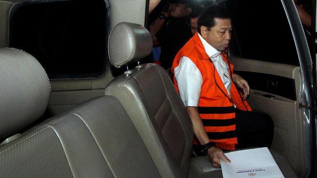 KPK Pastikan Setnov Tak Sakit Jelang Sidang Korupsi e-KTP
