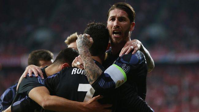 Sergio Ramos Kirim Sinyal Tantangan untuk Higuain