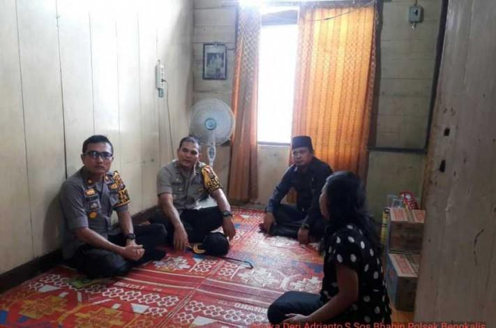 KPU Bengkalis Sambangi Rumah Ketua KPPS yang Diduga Meninggal Akibat Kelelahan