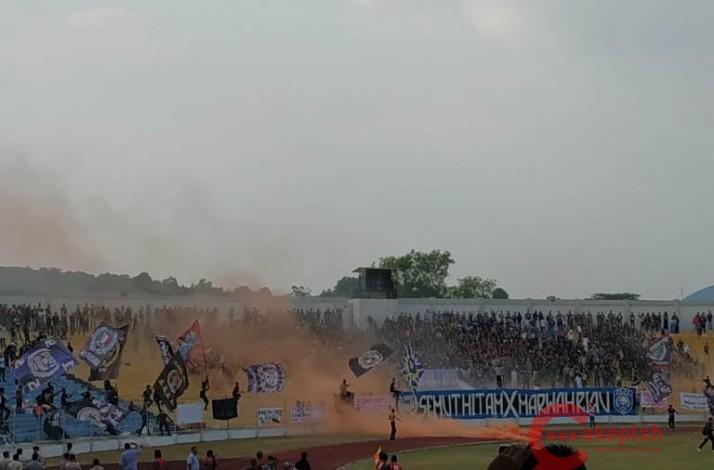 Babak Kedua Berakhir, PSPS Riau Kalah Lagi