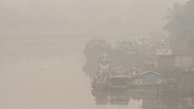 Paparan Kabut Asap Kurangi Kecerdasan Pada Anak