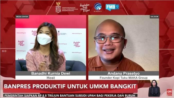 Kemenkop Dorong Peningkatan UMKM di Tengah Pandemi