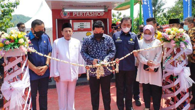 BPH Migas Resmikan Pertashop Milik Pesantren di Cilacap