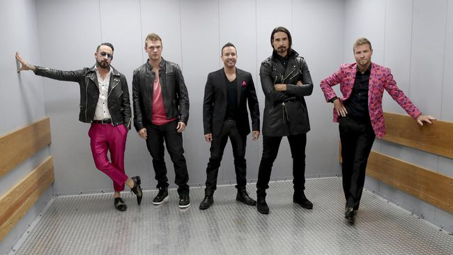 Backstreet Boys Joget bak Anak Muda di Single Terbaru