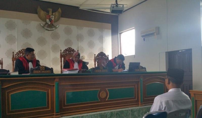 Caleg Meranti Hafizan Abbas dipidana tiga bulan penjara terbukti politik uang