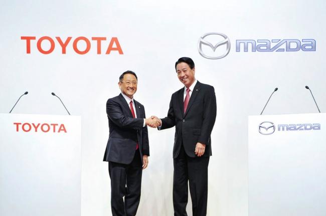Toyota dan Mazda Umumkan Kerja Sama Senilai USD570 Juta